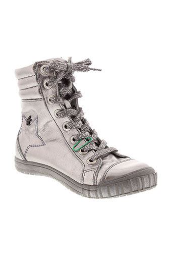ramdam boots fille de couleur gris