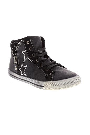 kouki chaussures garçon de couleur noir