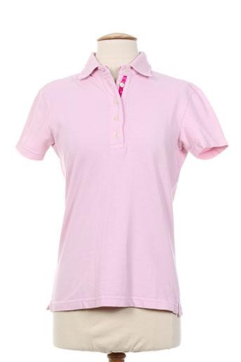 cristiana c t-shirts femme de couleur rose