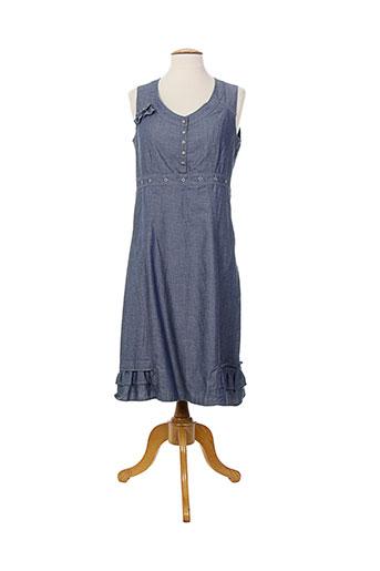 quattro robes femme de couleur bleu