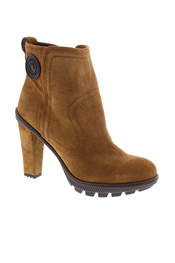 pataugas boots femme de couleur marron