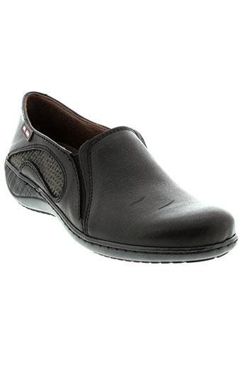 on foot chaussures femme de couleur noir