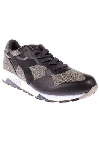 diadora heritage chaussures homme de couleur gris
