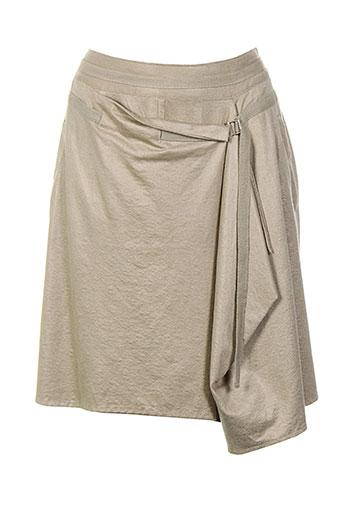 femmes je vous aime jupes femme de couleur beige