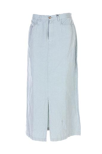 setrak jupes femme de couleur bleu