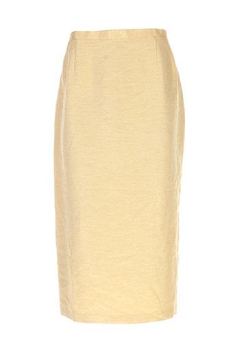 charles lorens jupes femme de couleur jaune
