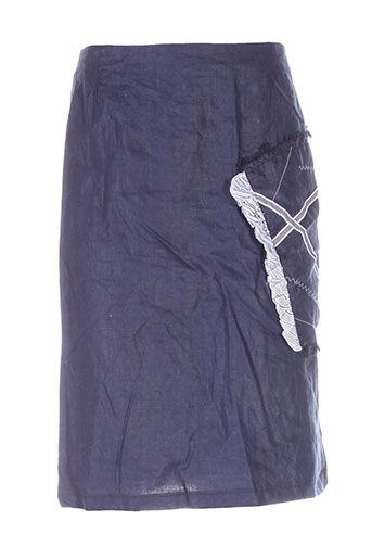 bleu de chine jupes femme de couleur bleu