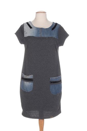 rinascimento robes femme de couleur gris