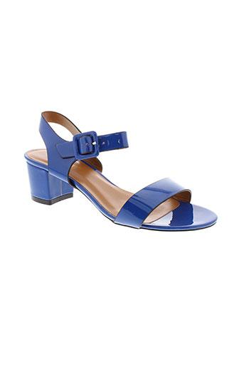 poti et pati sandales et nu et pieds femme de couleur bleu