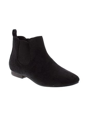 bestelle boots femme de couleur noir
