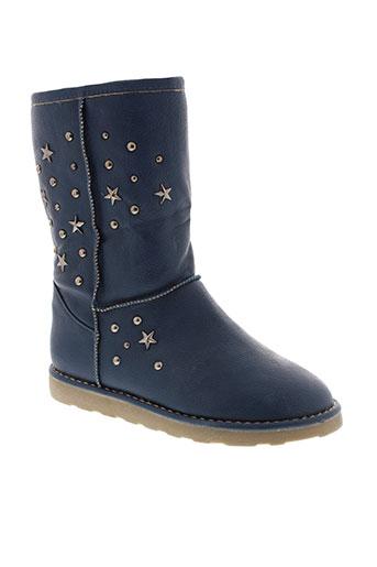 ideal et shoes boots femme de couleur bleu