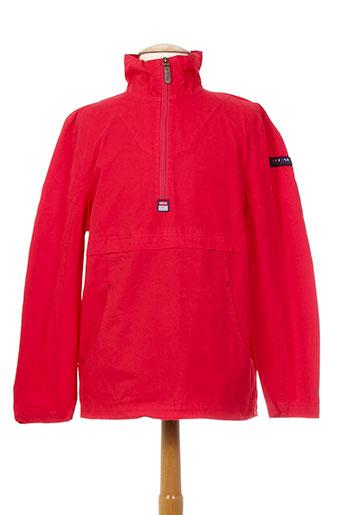batela manteaux homme de couleur rouge