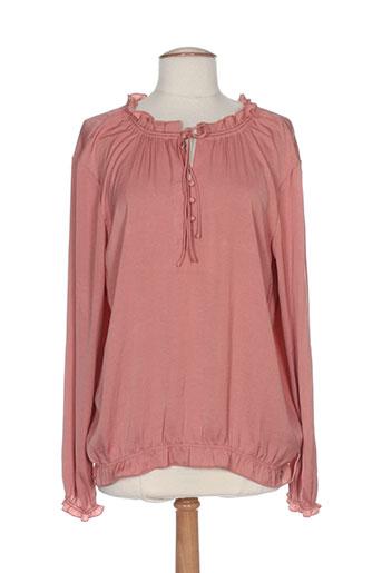 s et oliver blouses femme de couleur rose