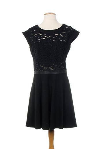lea lau robes femme de couleur noir