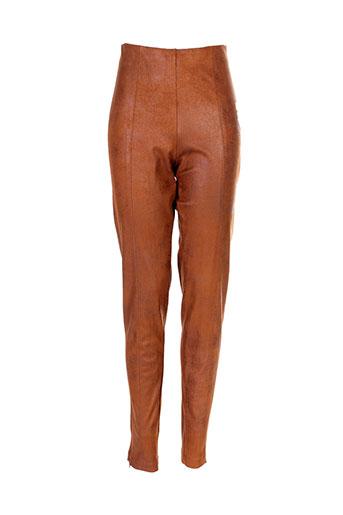 eva et kayan pantalons et citadins femme de couleur marron