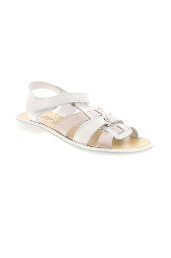 bellamy sandales et nu et pieds fille de couleur blanc