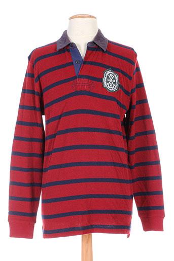 cambridge t-shirts homme de couleur rouge