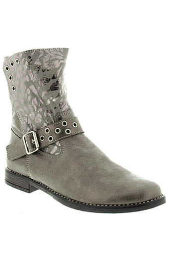 bellamy boots femme de couleur gris
