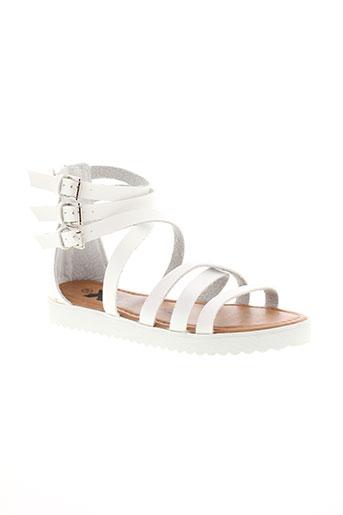 xti chaussures femme de couleur blanc