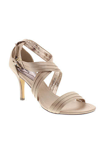 playa chaussures femme de couleur beige