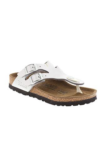 birki's chaussures fille de couleur gris