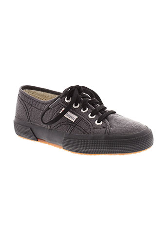 superga chaussures fille de couleur noir