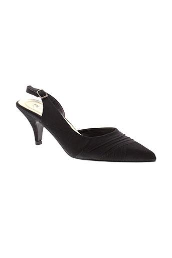 playa chaussures femme de couleur noir