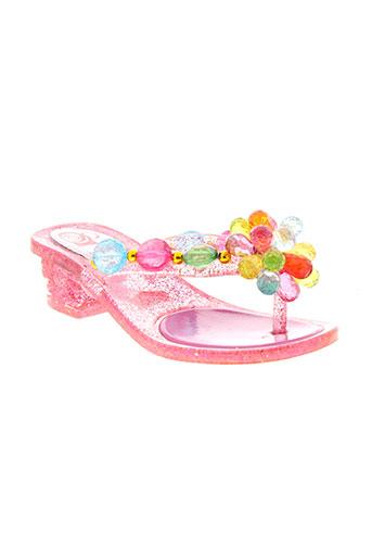 sol chaussures fille de couleur rose