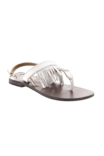 valentine la coquine chaussures fille de couleur gris