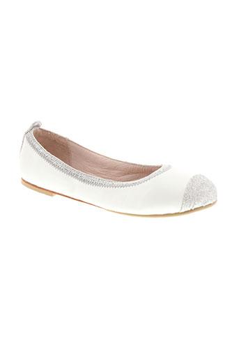 bloch chaussures fille de couleur blanc