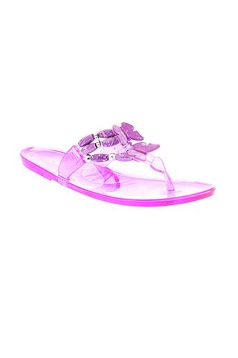 cassis cote d'azur chaussures fille de couleur violet