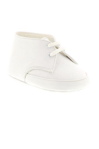 baby chick chaussures enfant de couleur blanc