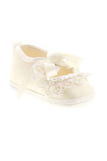 baby chick chaussures fille de couleur beige