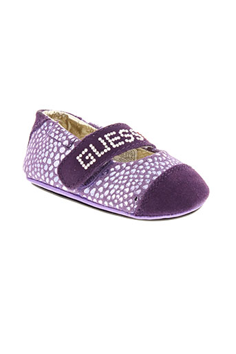 guess ballerines fille de couleur violet
