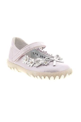 pom d'api chaussures fille de couleur violet