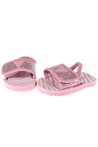 guess sandales et nu et pieds fille de couleur rose