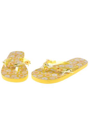 lelli kelly chaussures fille de couleur jaune