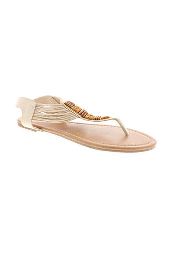cassis sandales et nu et pieds femme de couleur beige