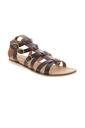 romagnoli chaussures femme de couleur marron