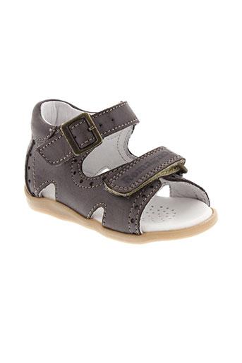 romagnoli sandales et nu et pieds fille de couleur marron