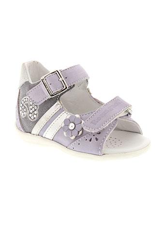 romagnoli chaussures fille de couleur violet