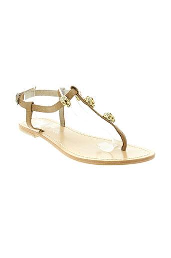 ilario ferucci chaussures femme de couleur beige
