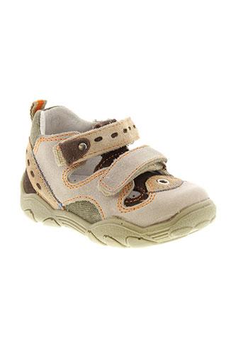 falcotto chaussures garçon de couleur beige