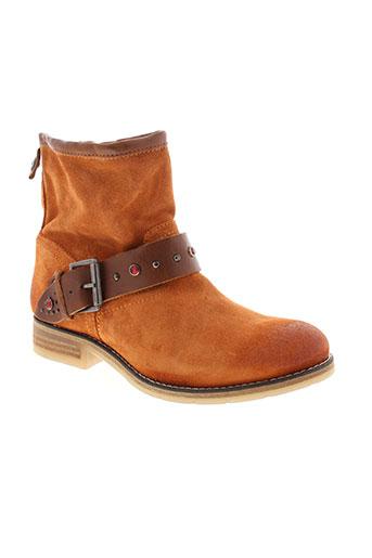 koah chaussures femme de couleur orange