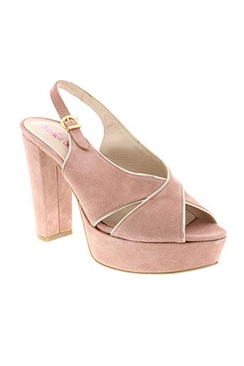 monica scott chaussures femme de couleur rose
