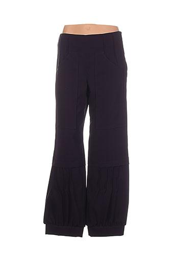 sanao pantalons femme de couleur violet