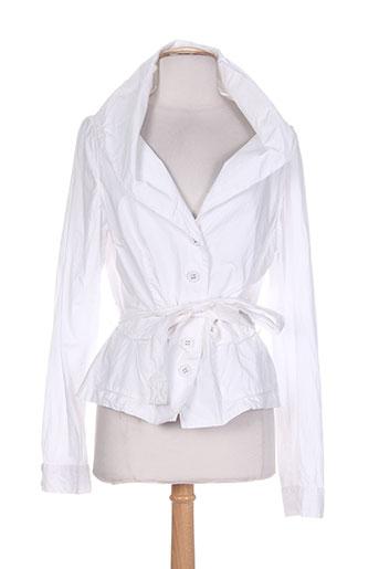 mark vestes femme de couleur blanc