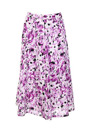 b de brel jupes femme de couleur violet