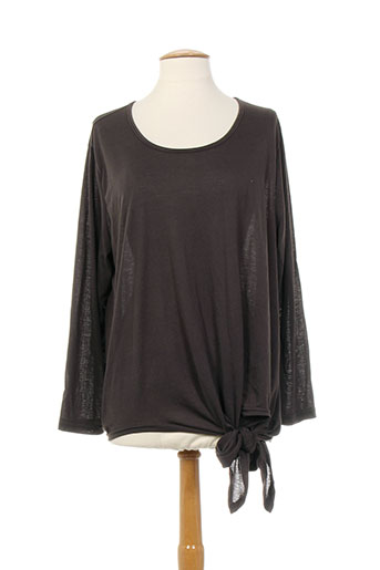 neslay tuniques femme de couleur marron