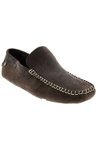 base et london mocassins homme de couleur marron
